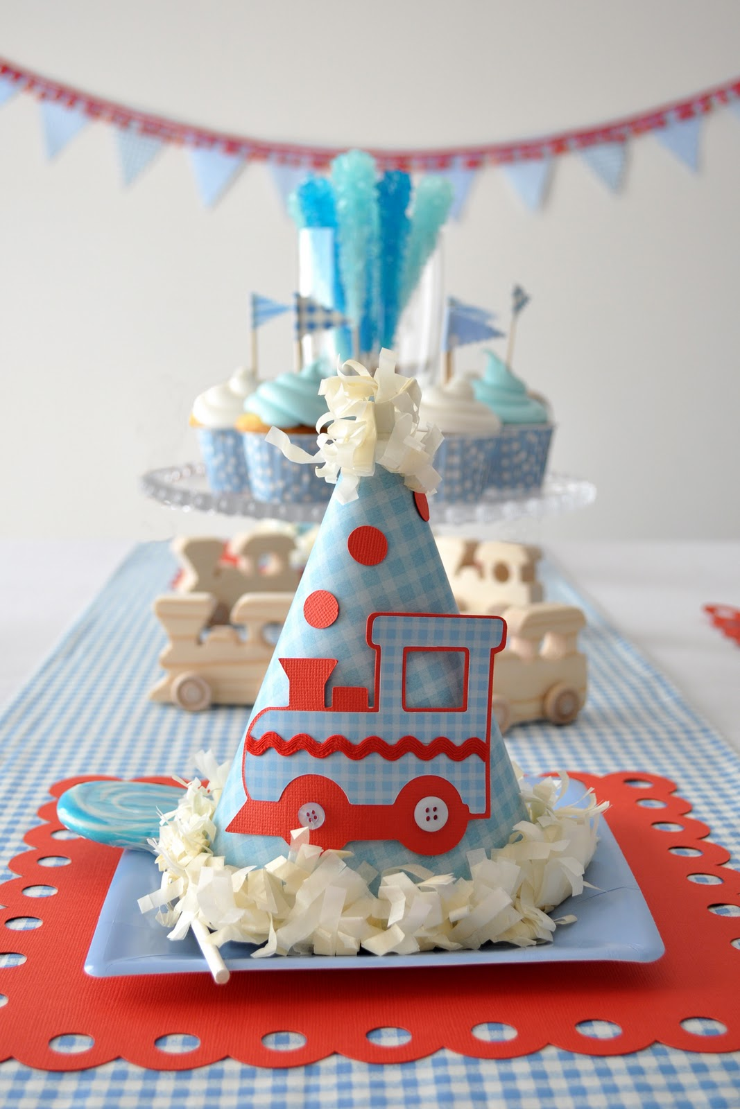 Little Engine That Could Toy Cake Topper