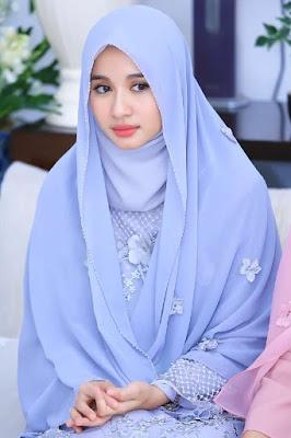 Laudya Chintya Bella artis cantik yang suka hidup bebas dan di dunia malam kini pakai hijab