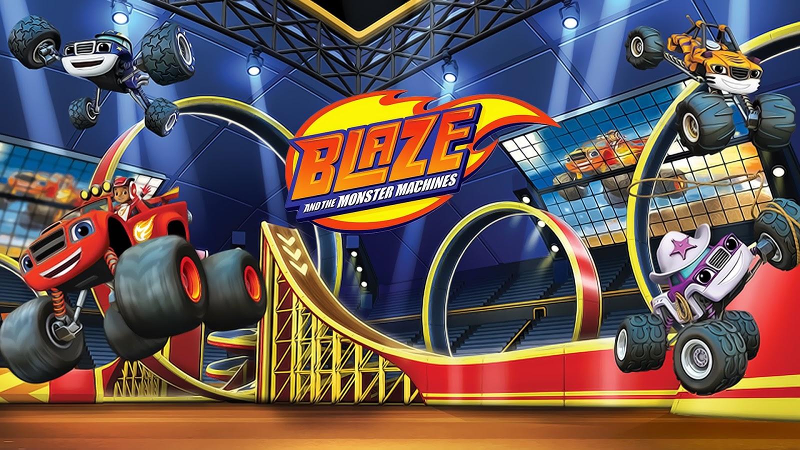 74968826a5 Blaze and the Monster Machines. seus jogos favoritos estão aqui!