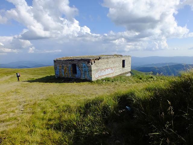 Дом дежурного состава радиолокационной станции