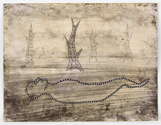 Hans Lemmen untitled, 2015 ink on casein prepared acid-free paper 24 x 31 cm