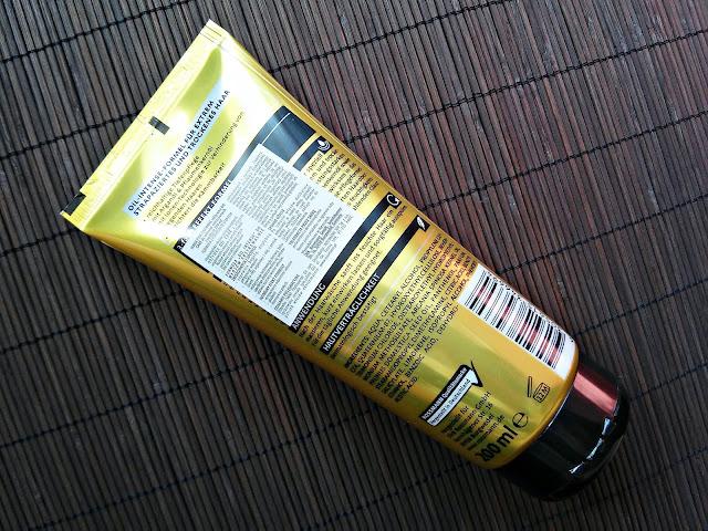 Isana Professional, Spülung Oil Care - Odżywka do włosów suchych i zniszczonych, opis opakowania
