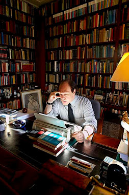 Javier Marías, fotografiado por Jordi Socías