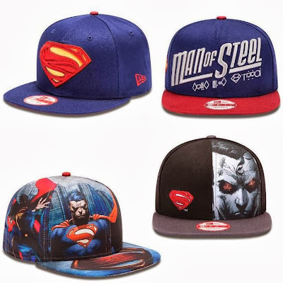 New Era x TheBlotSays.com Superman Man of Steel Hat Giveaway