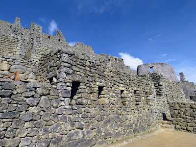 Photos of Machu Picchu: Close-up picture of the UNESCO Heritage ruins