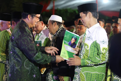 Lantik Ranting NU se Kecamatan Gunungpati, Kiai Hanif Tunjukkan Peran NU Hadapi Tantangan
