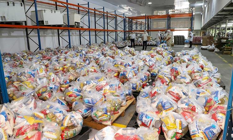 el alcalde Carlos Julio Gutiérrez Turriago anunció la suspensión de ayudas humanitarias a la comunidad extranjera residente en el municipio