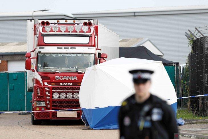 39 Mayat Ditemukan Dalam Kontener Truk Di Inggris