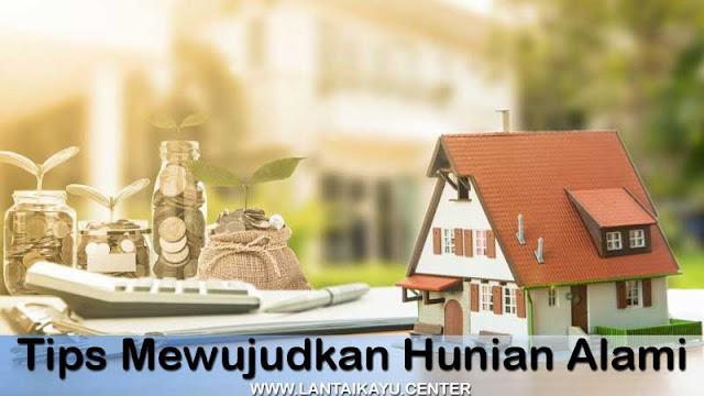 Langkah mudah membangun rumah alami & asri