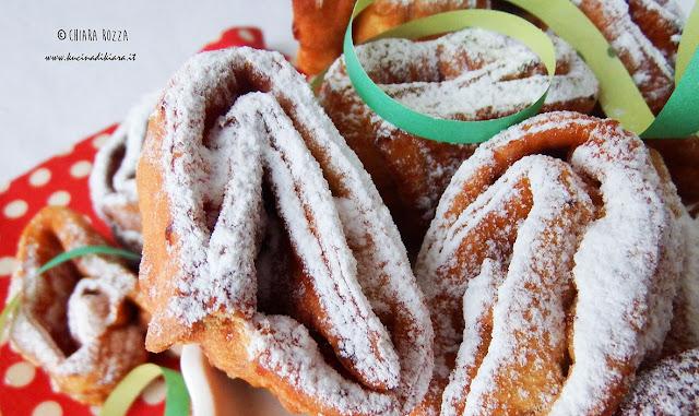 Tagliatelle fritte di Carnevale