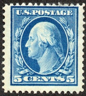 1911 - 5¢ George Washington
