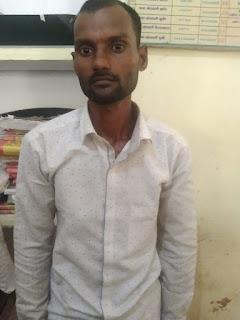 कुठौंद पुलिस द्वारा आर्म्स एक्ट में, 1 अदद लोहा छुरी के साथ अभियुक्त गिरफ्तार                                                                                                                                                                            संवाददाता, Journalist Anil Prabhakar.                                                                                               www.upviral24.in