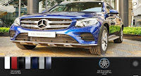 Mercedes GLC 300 4MATIC 2018 màu Xanh Brilliant 896