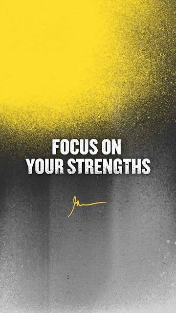 FOCUS on Your Strengths | GarryVee wallpapers