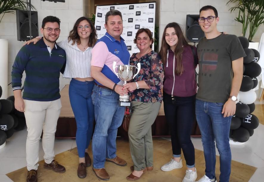 Luis María Campos bicampeón de España, Andrés Fos y Paco Trobat terceros. El campeón comenta sus sensaciones durante el torneo...