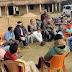 धोबघट : +2 हाई स्कूल  के जख्मों पर BJP नेता ने लगाई मरहम