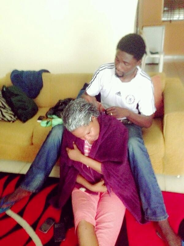 toyin aimakhu husband relaxing hair