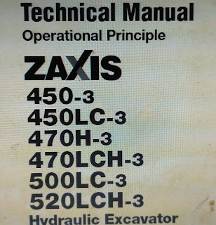 ZX450-3 ZX450LC-3 ZX470H-3 ZX470LCH-3