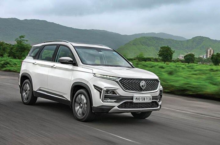 MG Hector tại Ấn Độ giống hệt Chevrolet Captiva