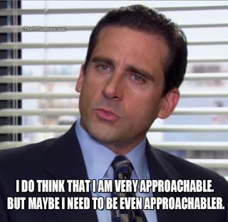 approachabler the office isms memes