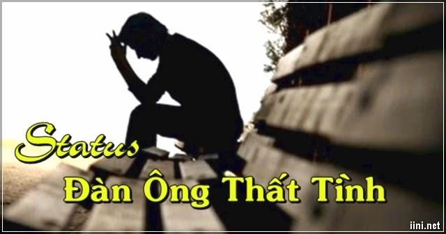 Status khi người đàn ông, con trai thất tình, hối tiếc