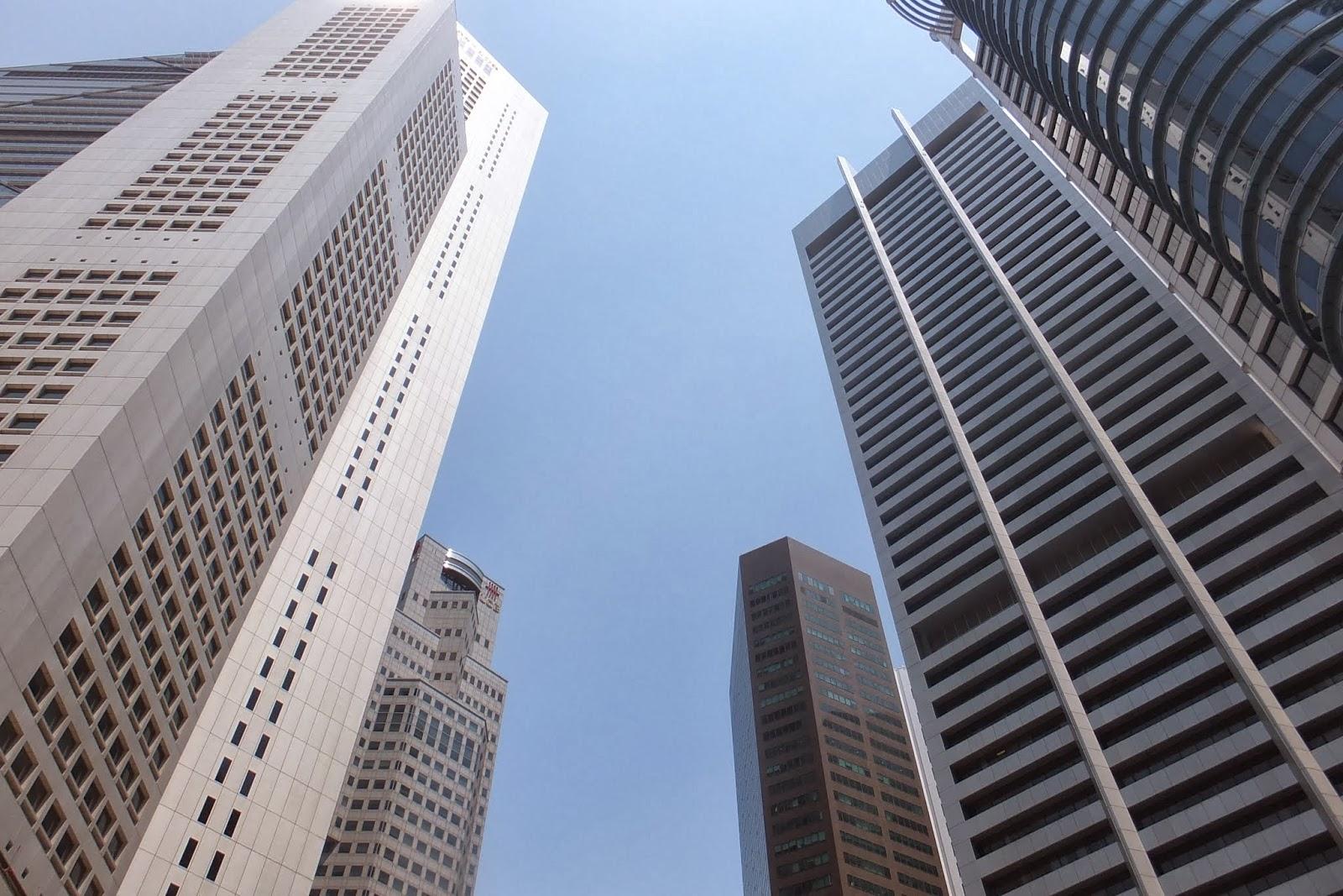 Singapore-commercial-district