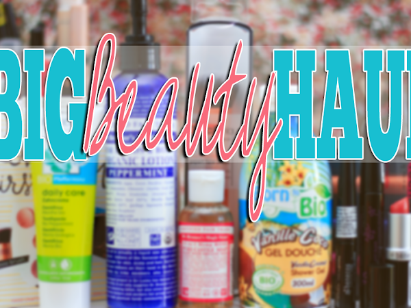Big Beauty Haul: Real Techniques, Dr. Bronner's, Benecos...