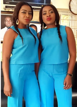 aneke twins attends winners chapel