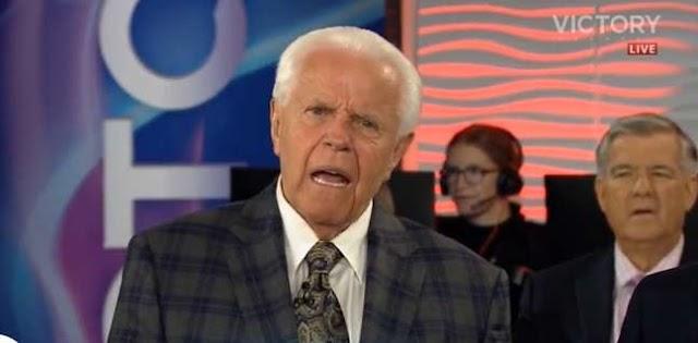 Um Pastor nos Estados Unidos, diz na TV que Jesus só voltará se fiéis doarem mais
