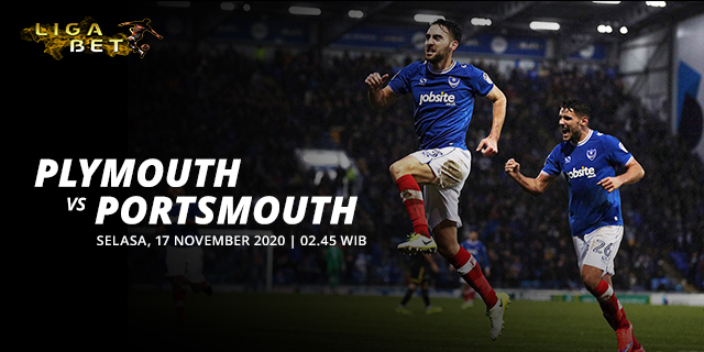 PREDIKSI PARLAY PLYMOUTH VS PORTSMOUTH 16 NOVEMBER 2020