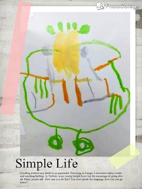 參與 KIDS ART 的兔寶和媽媽都很喜歡這幅畫