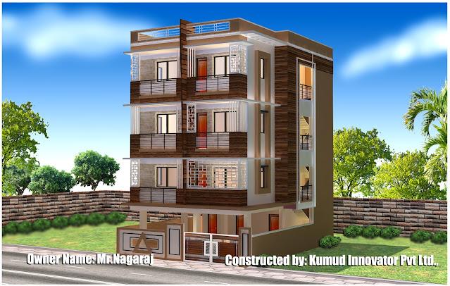 3D Elevation work by Kumud Innovator Pvt. Ltd.