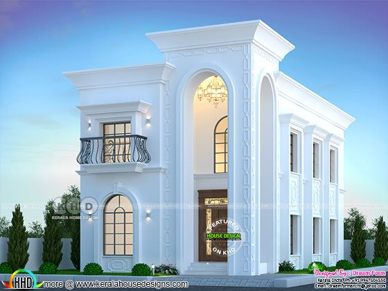 Arabic villa model home design