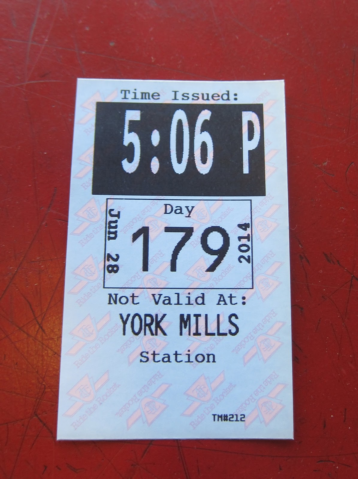 York Mills station transfer