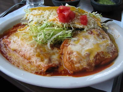 Slow Cooker Chicken Enchiladas from Skinny Ms. via SlowCookerFromScratch.com