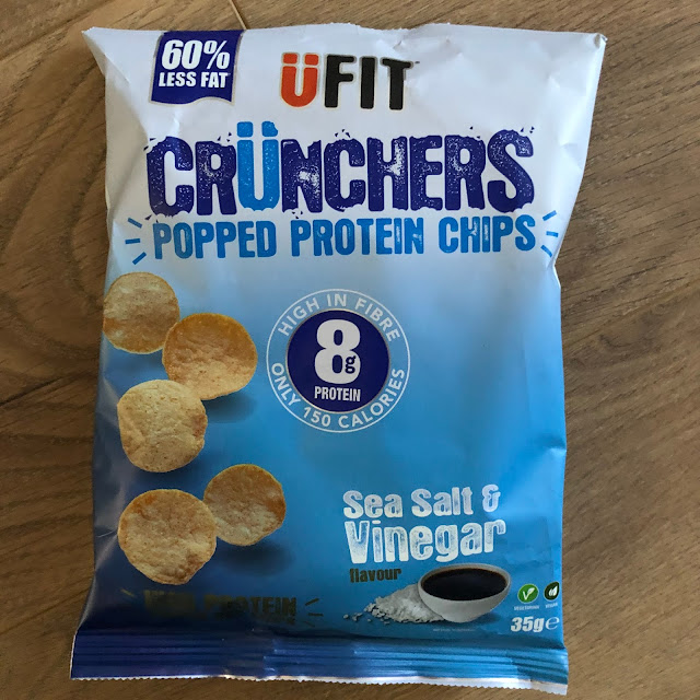 UFIT Crunchers Sea Salt and Vinegar packet in degustabox December 2019