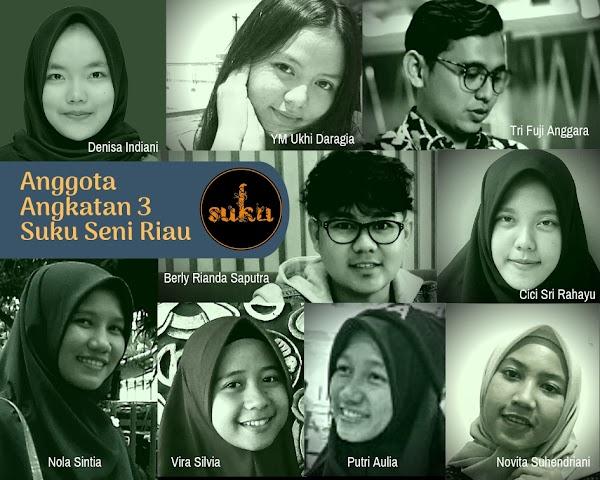 Inilah Anggota Angkatan 3 Suku Seni Riau (2019)