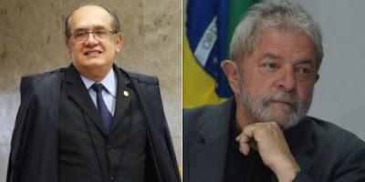Gilmar Mendes e Lula