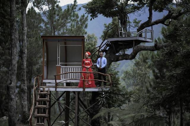 Rumah pohon wisata Genilangit