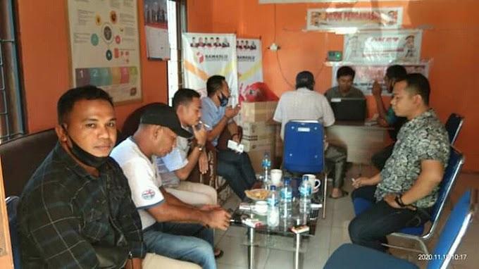 Tim SYAFAAD Resmi Laporkan Ke Banwaslu Pasar Murah Spanduk DILAN