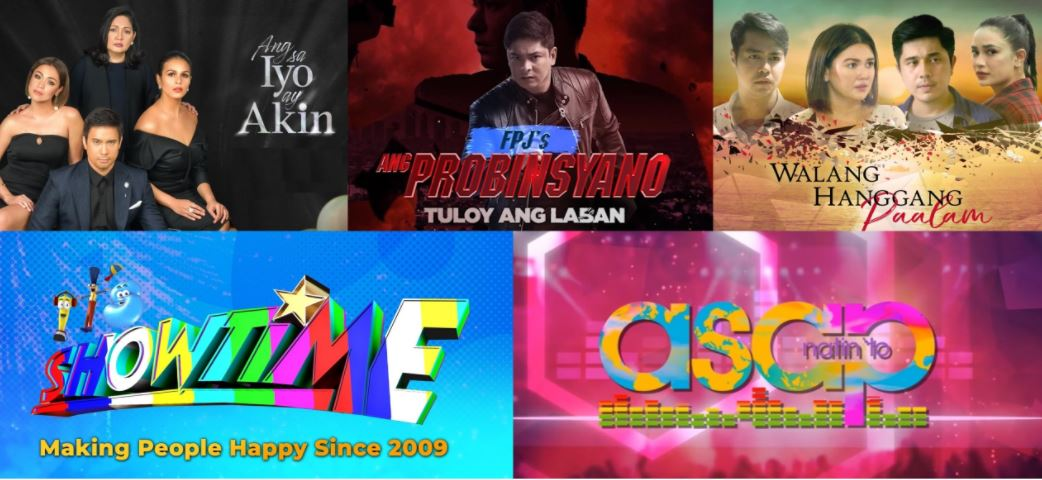 ABS-CBN shows on A2Z Channel 11