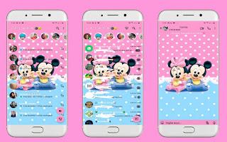 Mickey & Minnie Baby Theme For YOWhatsApp & Fouad WhatsApp By Leidiane