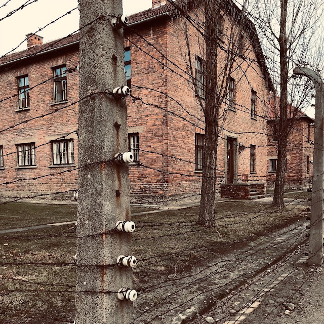 One of the blocks at Auschwitz : My Visit To Auschwitz (and why you should visit too)