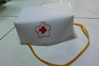 membuat topi dari kertas karon dengan mudah