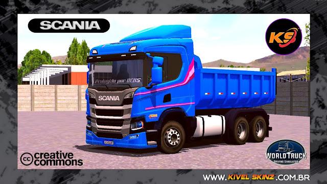 SCANIA P320 CAÇAMBA - SCANIA 60 ANOS EDITION