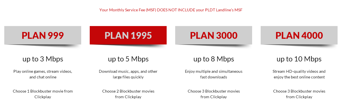 pldt home dsl high speed plans