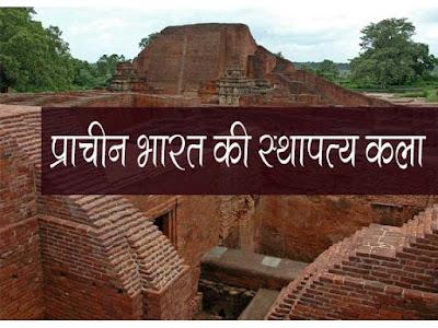 मुगलों के पूर्व भारत में  स्थापत्य कला का विकास  | प्राचीन एवं पूर्व मध्यकालीन स्थापत्य कला Ancient and pre-medieval architecture