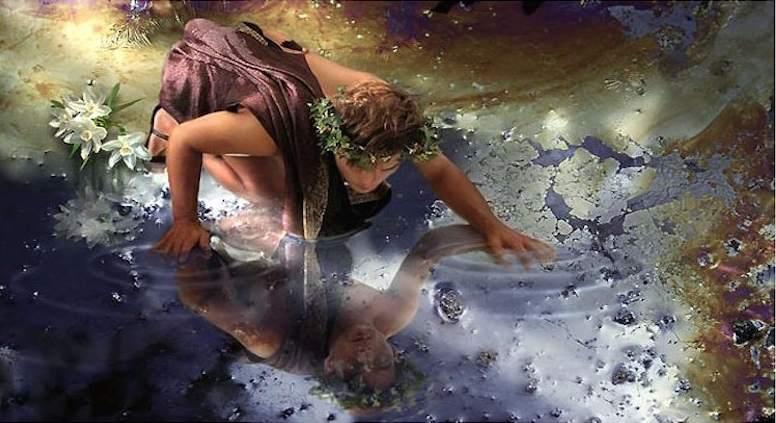 História Mitológica de Narciso e Eco