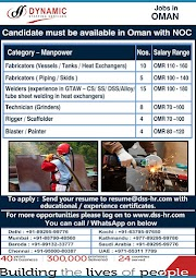 OMAN JOBS : REQUIRED FOR A LEADING COMPANY IN OMAN .g