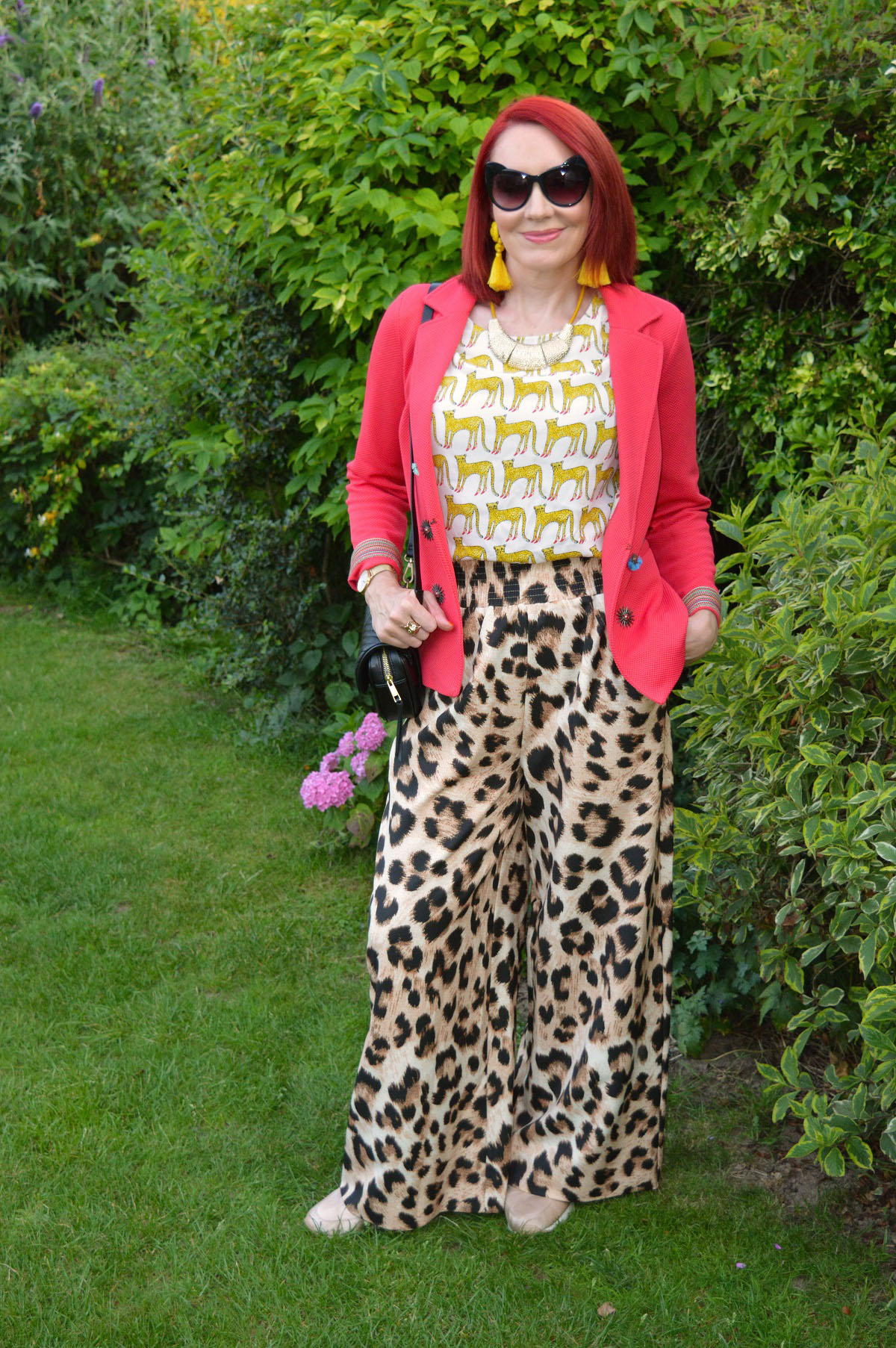 Emma Peach from over 40s style blog Stylesplash in the Style Not Age Challenge: July Jackets